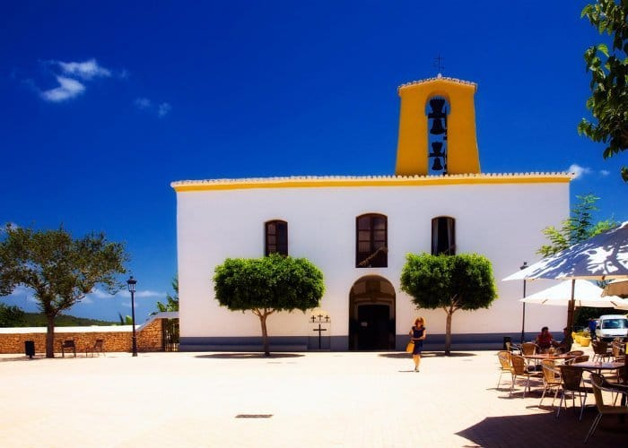 Spotlight on Santa Gertrudis church