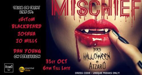 Mischief Halloween in Ibiza