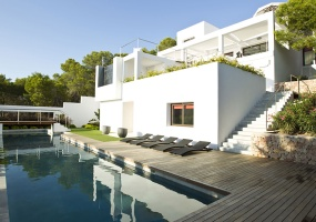 6 Bedrooms, Villa, For Rent, 8 Bathrooms, Listing ID undefined, Cala Salada, Ibiza,