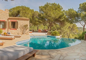 6 Bedrooms, Villa, For Rent, 8 Bathrooms, Listing ID undefined, KM4 - San Josep, Ibiza,