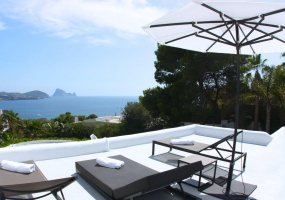 6 Bedrooms, Villa, For Rent, 5 Bathrooms, Listing ID undefined, Cala Bassa, Ibiza,